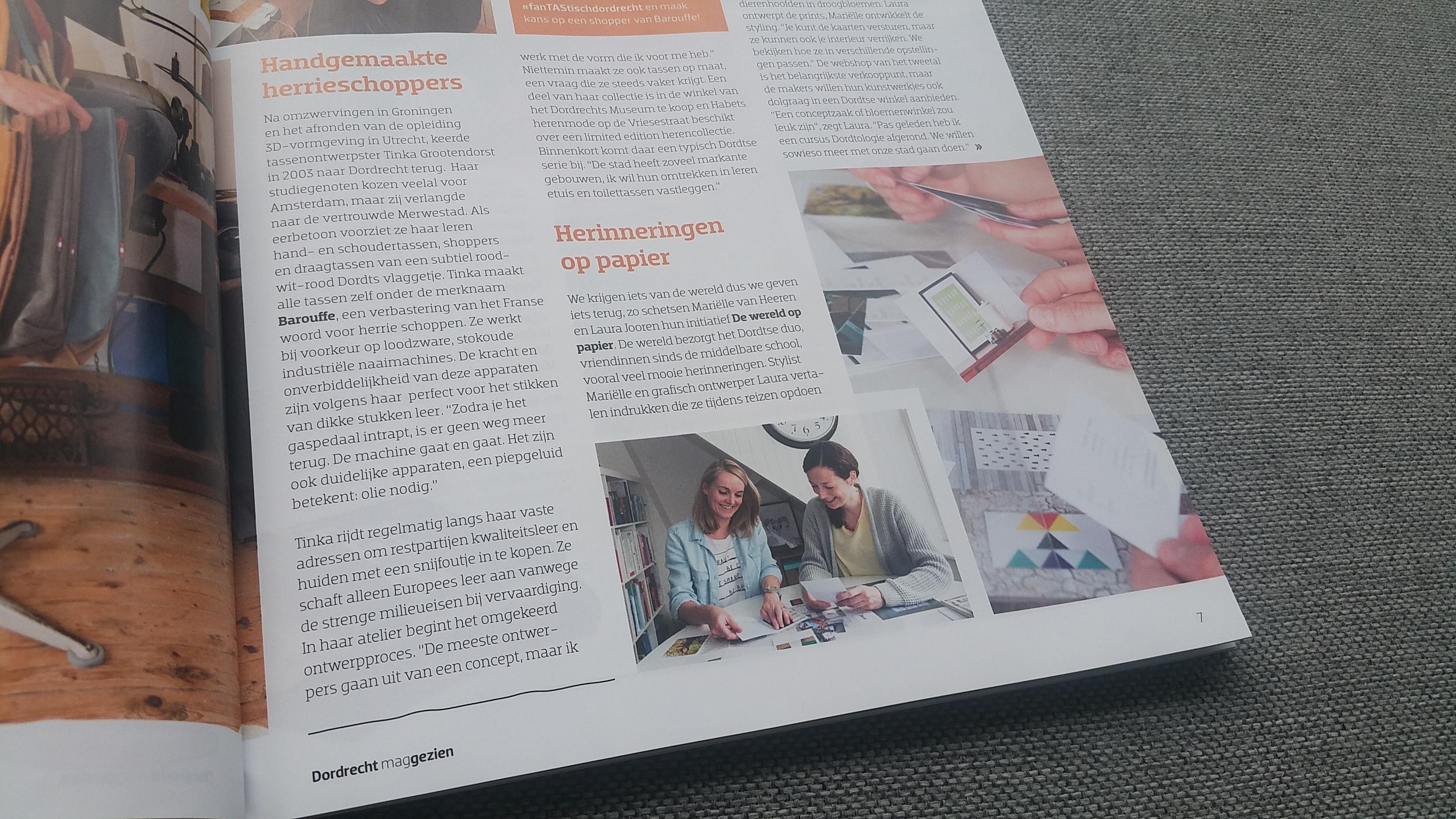 Thuis magazine de wereld op papier for Thuis van de wereldconsole