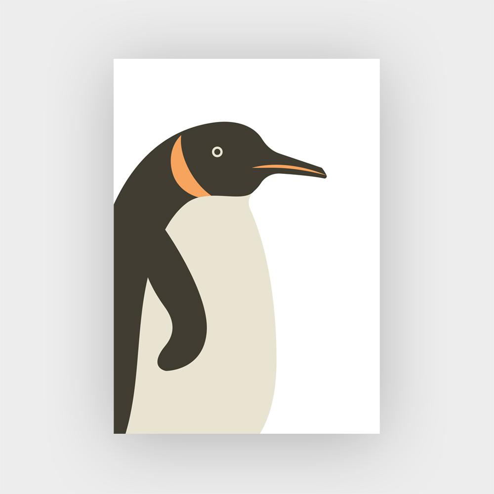 Kaart_vogels_pinguin