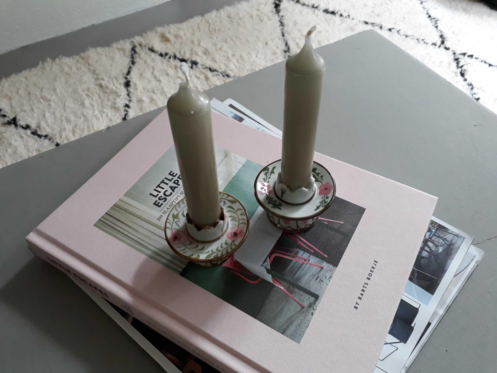 Kaarshouders roze stylingfoto 1